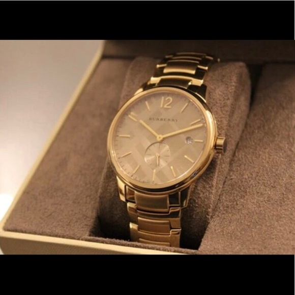 Burberry Other - Burberry Gold Watch